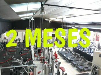 imagen del gimnasio con la oferta de dos meses de suscripción