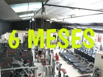 foto del gimnasio para oferta de 6 meses con ahorro